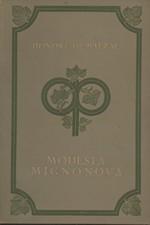 Balzac: Modesta Mignonová, 1926