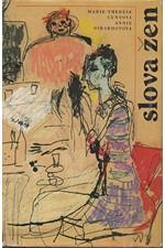 Cuny: Slova žen : [povídky], 1987