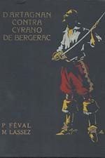 Féval: D'Artagnan contra Cyrano de Bergerac, díl  2.: Muka královnina, 1929