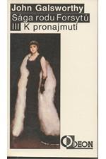 Galsworthy: Sága rodu Forsytů. Kniha 3, K pronajmutí, 1991