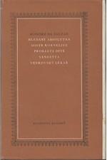 Balzac: Hledání absolutna ; Mistr Kornelius ; Prokleté dítě ; Vendetta ; Venkovský lékař, 1975