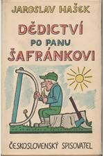 Hašek: Dědictví po panu Šafránkovi, 1961