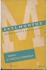 Munthe: Kniha o lidech a zvířatech, 1933