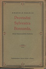 France: Provinění Sylvestra Bonnarda, člena francouzského Institutu, 1919