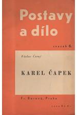 Černý: Karel Čapek, 1936