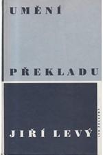 Levý: Umění překladu, 1998