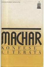 Machar: Konfese literáta, 1984