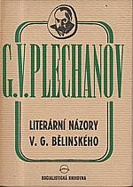 Plechanov: Literární názory V.G. Bělinského, 1946