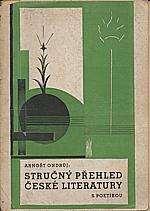 Ondrůj: Stručný přehled české literatury  (s poetikou), 1932