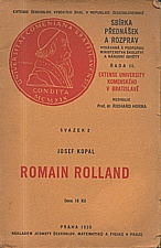 Kopal: Romain Rolland, 1930