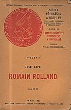 Kopal: Romain Rolland, 1930