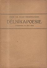 Siebenschein: Dělník a poesie, 1920
