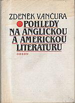 Vančura: Pohledy na anglickou a americkou literaturu, 1983