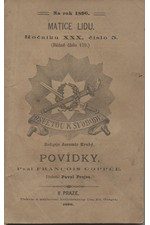 Coppée: Povídky, 1896
