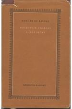 Balzac: Plukovník Chabert a jiné prózy, 1957