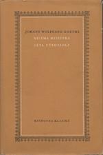 Goethe: Viléma Meistera léta učednická, 1958