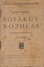 Meyrink: Šosákův rozhlas, 1928