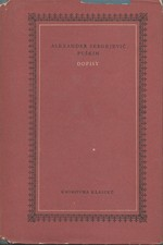 Puškin: Dopisy, 1958