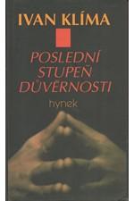 Klíma: Poslední stupeň důvěrnosti : román, 1996
