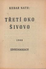 Nath: Třetí oko Šivovo : Detektivni rommán, 1968