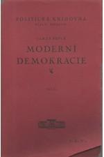 Bryce: Moderní demokracie, díl  2., 1927