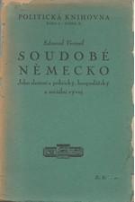 Vermeil: Soudobé Německo : [1919-1924] : Jeho složení a politický, hospodářský a sociální vývoj, 1926