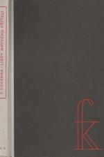 Kovárna: Listy mrtvému příteli, 1946