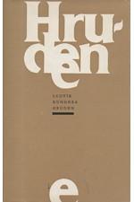 Kundera: Hruden : [sbírka básní], 1985