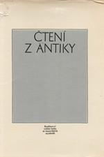 Maxová: Čtení z antiky : Rozhlasová Antická knihovna, cyklus četby ze starověkých myslitelů, 1969