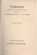 Siegfried: Dnešní Francie, 1932