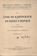 Koláček: Úvod do kartografie čili do nauky o mapách, 1913