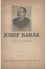 Jandásek: Josef Barák : [K stému výročí narození - 25. ledna 1833 - a k 50. výročí jeho smrti - 15. listopadu 1883], 1933