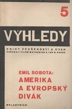 Sobota: Amerika a evropský divák, 1930