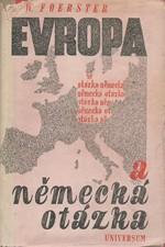 Foerster: Evropa a německá otázka, 1948
