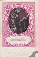 Kalista: České baroko : Studie, texty, poznámky, 1941
