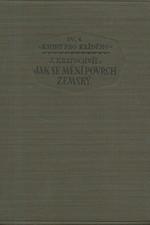 Kratochvíl: Jak se mění povrch zemský, 1925