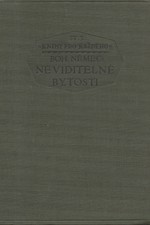 Němec: Neviditelné bytosti, 1926