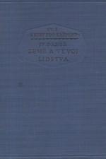 Daneš: Země a vývoj lidstva, 1927