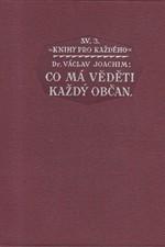 Joachim: Co má věděti každý občan, 1923