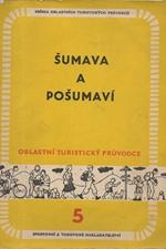 Melicharová: Šumava a Pošumaví, 1959