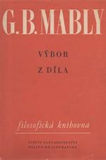 Mably: Výbor z díla, 1958