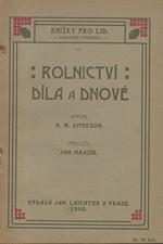 Emerson: Rolnictví : Díla a dnové, 1907