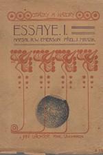 Emerson: Essaye, část  1., 1912