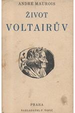 Maurois: Život Voltairův, 1933