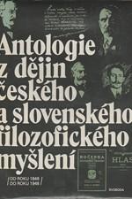 Pauza: Antologie z dějin českého a slovenského filozofického myšlení : Od roku 1848 do roku 1948, 1989