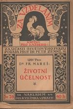 Mareš: Životní účelnost, 1916