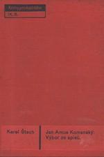 Komenský: Výbor ze spisů, 1933