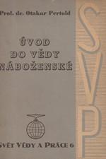 Pertold: Úvod do vědy náboženské, 1947