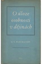 Plechanov: O úloze osobnosti v dějinách, 1954