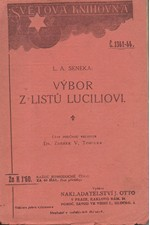 Seneca: Výbor z listů Luciliovi, 1919